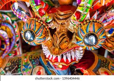 Devil Mask used at Oruro Carnival in Bolivia