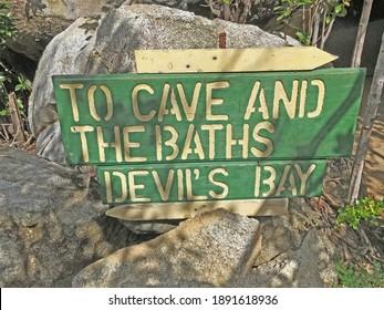 Devils Bay The Baths BVI