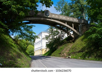 The Devil's Bridge on Toome Hill Park in Tartu, Estonia
