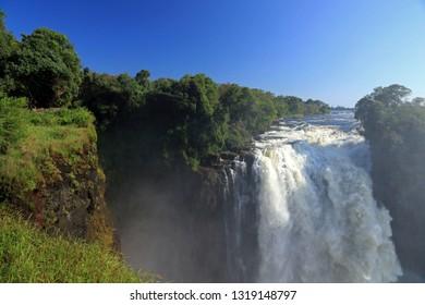Devil's Cataract, Victoria Falls, Zimbabwe
