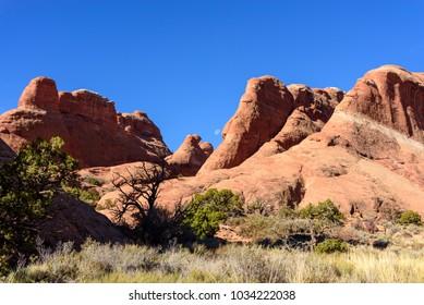 The Devils Garden, Arches National Park, Moab, Utah