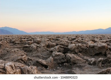 Devil's Golf Course at Death Valley National Park