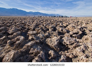 Devil's Golf Course, Death Valley National Park, California, USA