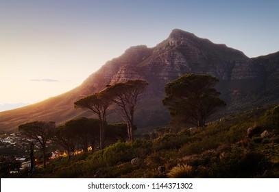 Devil's Peak, Cape Town. South Africa