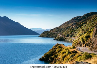 The Devil's Staircase, Lake Wakatipu, Queenstown, New Zealand