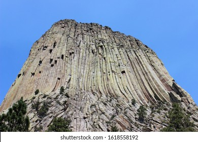 Devils Tower view from the base