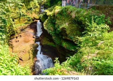 Devi's Falls, a Natural Wonder in Pokhara, Nepal