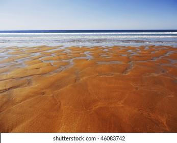 devon coast woolacombe england uk coast coastal