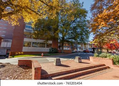 DH Hill Library on November 24, 2017 at North Carolina State University in Raleigh, North Carolina.