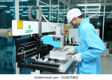 Dhaka / Bangladesh - 01 January to May 28 - 2019:  LED TV Manufacture, Production process and Testing unit and Industrial Machines in Bangladesh