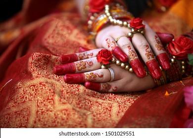 Dhaka / Bangladesh - January 2019: The Beautiful Cultural Events and Wedding Decorations of Bangladesh.