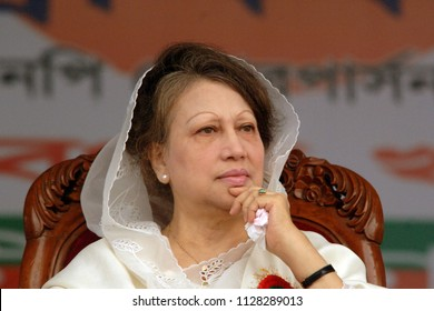 Dhaka, Bangladesh - May 02, 2009: Bangladeshi ex prime minister and Bangladesh national party (BNP) Chairperson Begum Khaleda zia. She was the first woman in the country, Dhaka, Bangladesh.