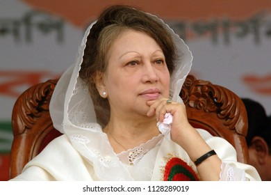 Dhaka, Bangladesh - May 02, 2009: Bangladeshi ex prime minister and Bangladesh national party (BNP) Chairperson Begum Khaleda zia. She was the first woman in the country, Dhaka, Bangladesh.