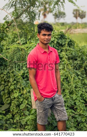 Teenager in Dhaka