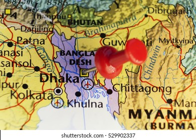 Bangladesh Map Images, Stock Photos & Vectors | Shutterstock