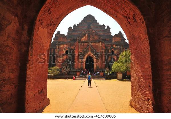 Dhammayangyi Temple in Bagan , Myanmar