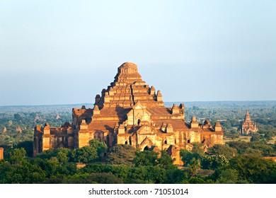 Dhammayangyi Temple, the biggest temple in Bagan, Myanmar.