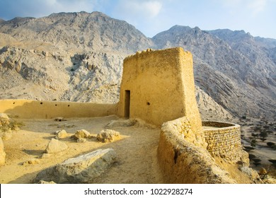Dhayah Fort, historical location in north Ras Al Khaimah United Arab Emirates
