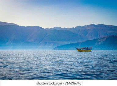 Dhow Boat off the Coast of Oman