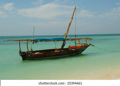 Dhow in Harbor