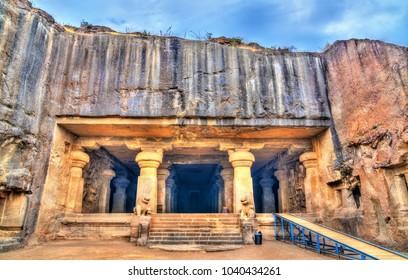Dhumar Lena, cave 29 at the Ellora complex. A UNESCO world heritage site in Maharashtra, India