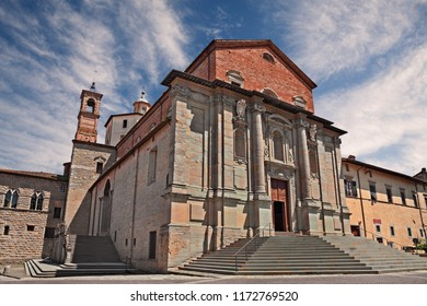 Città di Castello, Perugia, Umbria, Italy: cathedral of San Florido, a medieval catholic church