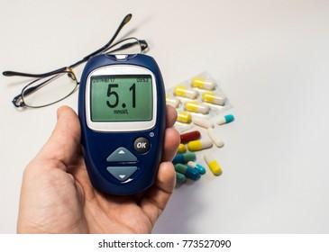 diabetes blood glucose meter,measuring sugar in the blood