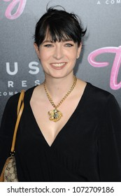 Diablo Cody at the Los Angeles premiere of 'Tully' held at the Regal LA LIVE Stadium 14 in Los Angeles, USA on April 18, 2018.