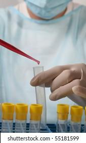 Diagnosis, doctor, scientist, biochemistry,
