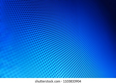Diagonal blue carbon hole apertures texture background