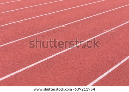 Diagonal White Running Lane Lines On Stock Photo Edit Now
