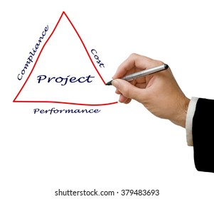 Diagram of project organization