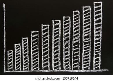 diagram sketched on blackboard