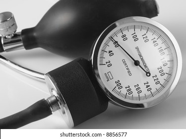 Dial and Pump Bulb for the Blood Pressure Machine