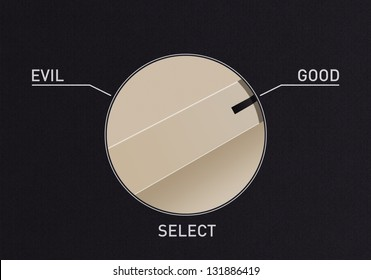 Dial switch to change from evil to good