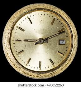 dial vintage clock