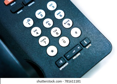 Dialing Telephone Keypad concept for Business
