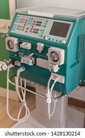 a dialyser or hemodialysis machine in an hospital ward