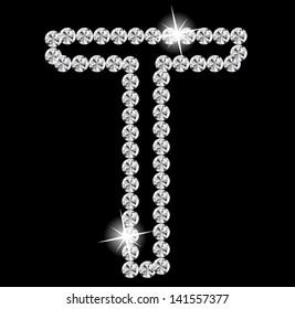 Diamond Alphabet  illustration