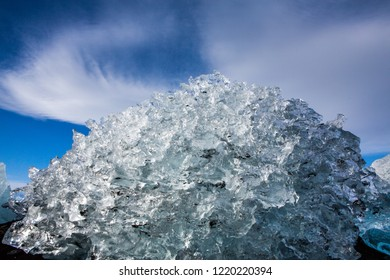 Iceland Winter Diamond Beach Images Stock Photos Vectors