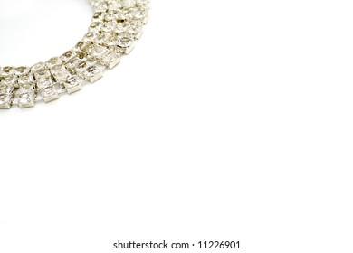diamond bracelet background