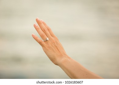 diamond engagement ring;