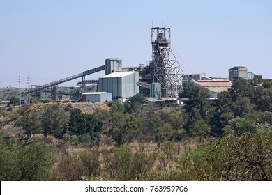Diamond extraction plant at the Cullinan diamond mine, South Africa