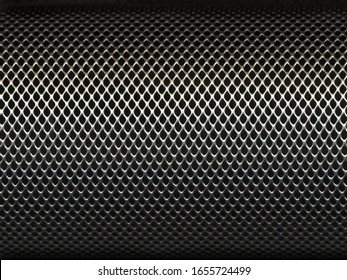 Diamond grid seamless pattern with small cell.