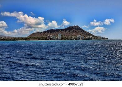 Diamond Head Oahu Hawaiian Islands USA