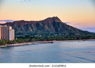 Diamond Head, Waikiki, Honolulu, Hawaii