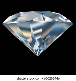 diamond isolated on the background