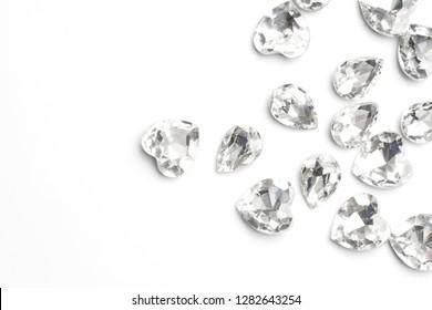 diamond isolated on white background