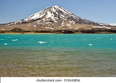 Diamond lagoon. Mendoza. Argentina
