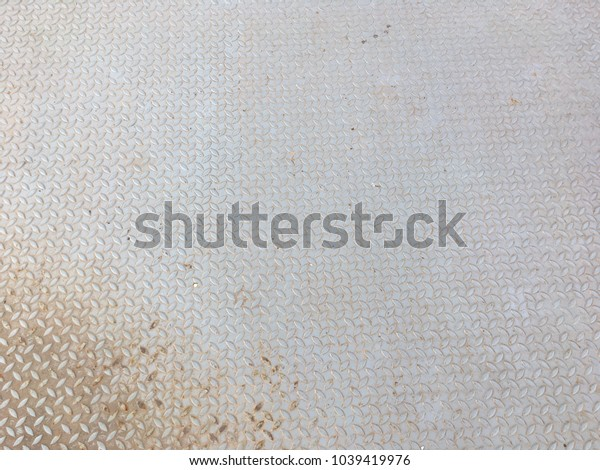 Diamond metal plate texture for background